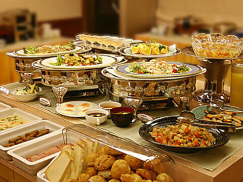 ホテルリソル朝食
