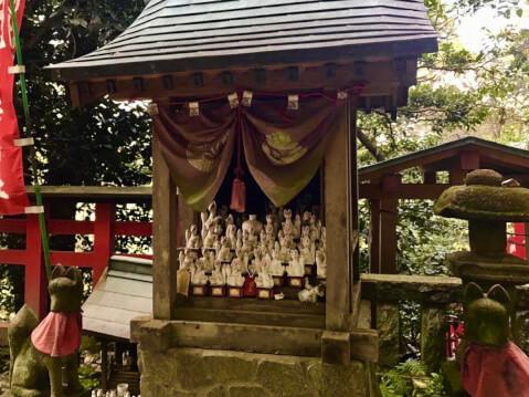 佐助稲荷神社-白狐