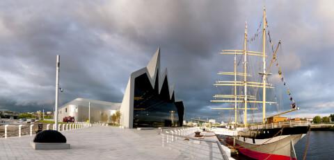 スコットランド グラスゴー リバーサイド博物館