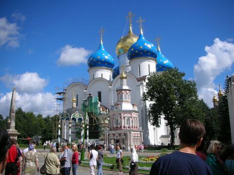 セルギエフポサード ロシア 観光