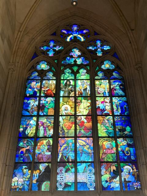 聖ビート教会ステンドグラス