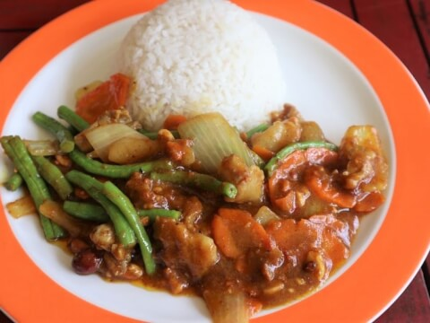 東南アジアの食事