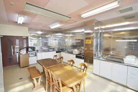 関金温泉 共同調理室