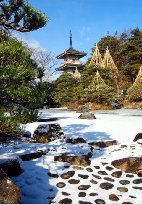 冬の輪王寺