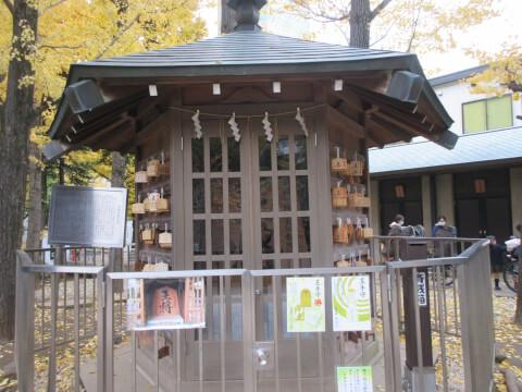 千駄ヶ谷の葉と鳩森八幡神社にある将棋堂