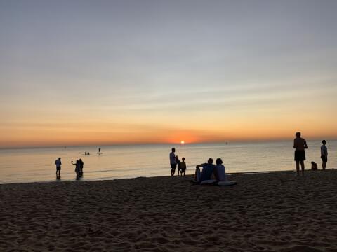 セントキルダビーチ