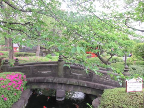 浅草寺 石橋