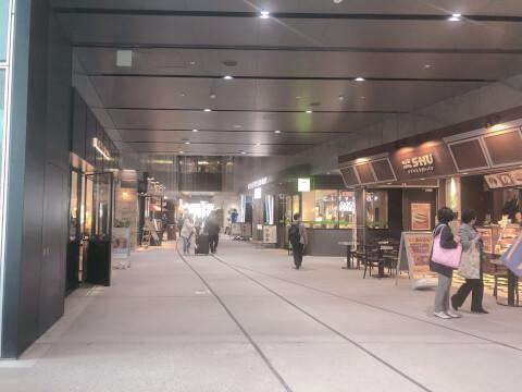 渋谷ストリーム 鉄道レール