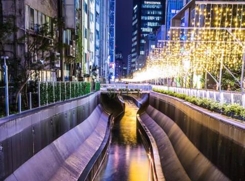 渋谷ストリーム 渋谷川