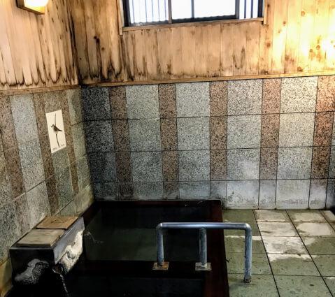 上之湯 四万温泉 共同浴場