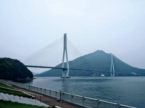 多々羅大橋 大三島 生口島 しまなみ海道
