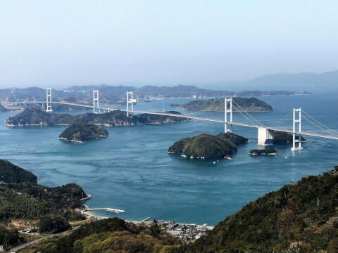 亀老山展望公園 しまなみ海道 大島 展望台