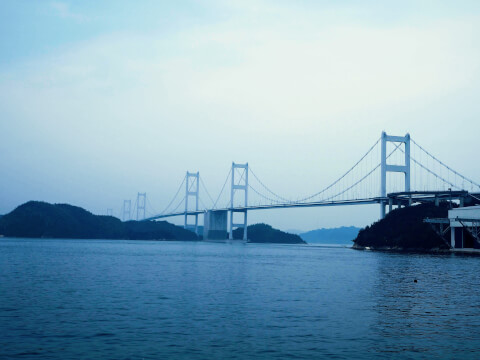 来島海峡大橋 大島 しまなみ海道