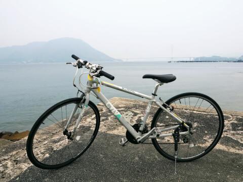 しまなみ海道 サイクリング レンタサイクル