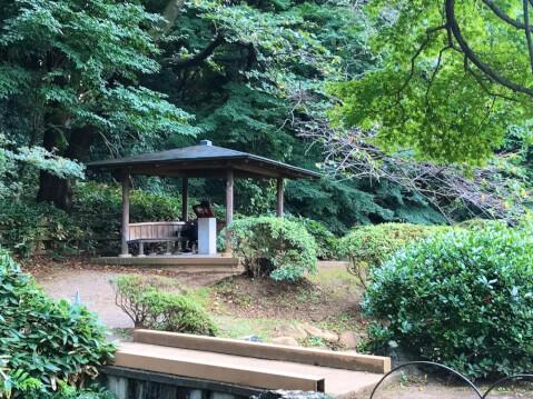 新宿御苑-休憩所