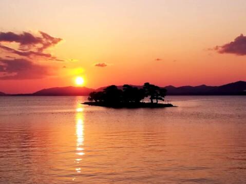 日本 絶景 島根 宍道湖