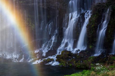 静岡観光白糸の滝