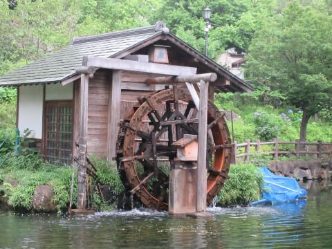 松濤鍋島公園 水車
