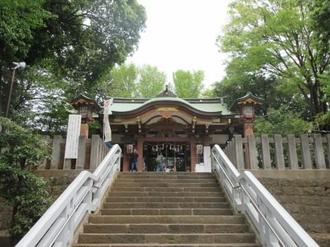 北沢八幡神社 境内