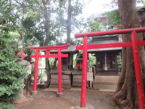 北沢八幡神社 稲荷