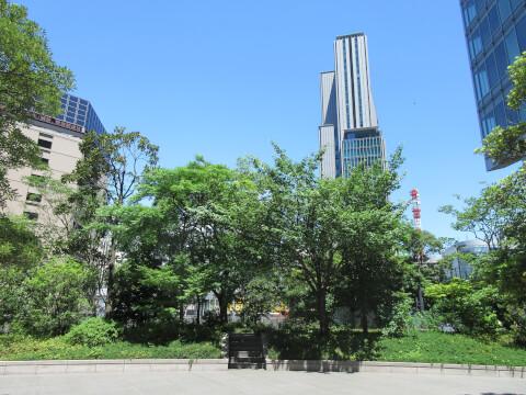 旧新橋停車場 広場