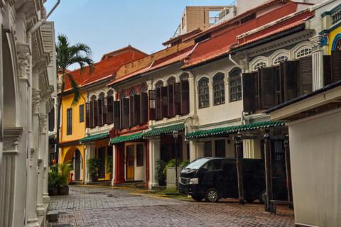 シンガポールのおすすめ観光スポット、エメラルドヒル・ロード