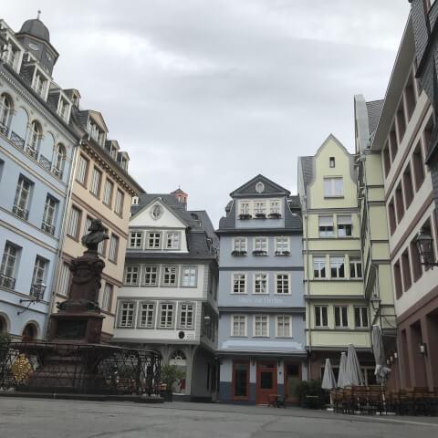 フランクフルト新旧市街