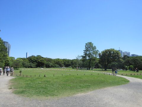 浜離宮恩賜庭園 平原