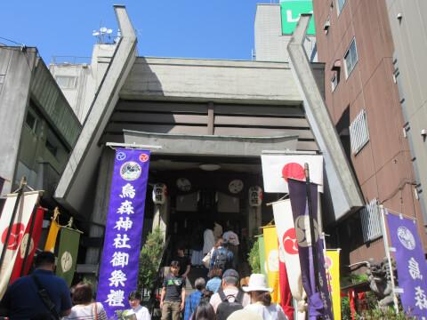 烏森神社 本殿