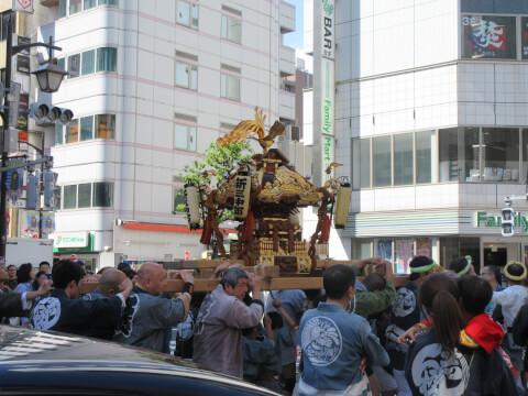 お祭り 烏森神社