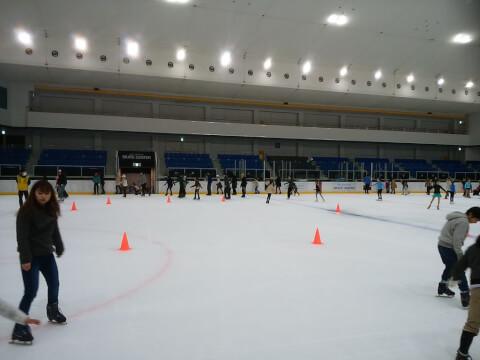 新横浜スケート 館内