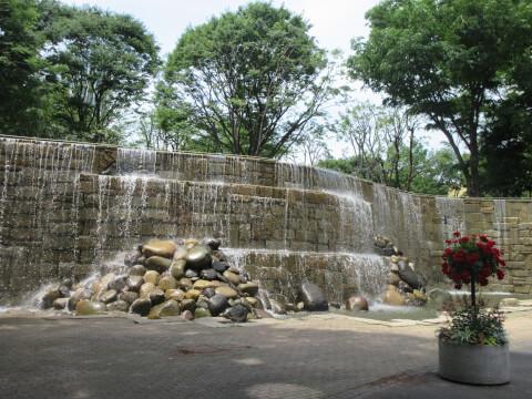 新宿中央公園 ナイアガラ