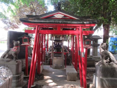 花園神社 稲荷