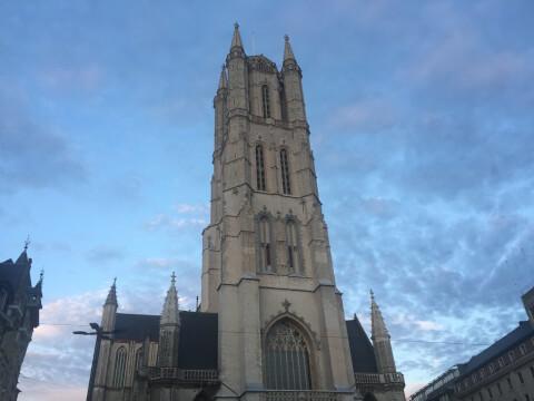 sint ベルギー ゲント 聖バーフ大聖堂