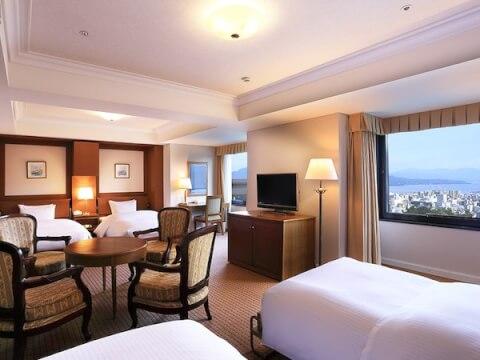 城山ホテル客室