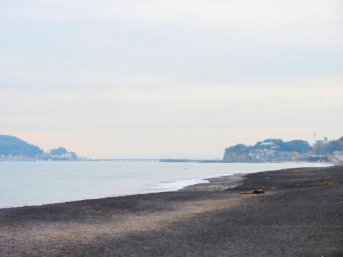 七里ヶ浜 景色