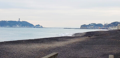 七里ヶ浜 海
