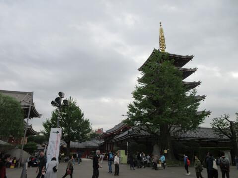 五重塔 浅草寺