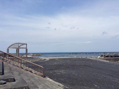 底土海水浴場 ビーチ