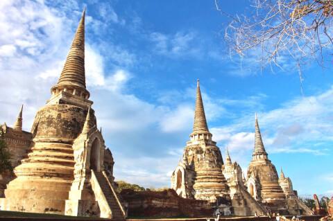 ワット・プラシー・サンペット タイ 遺跡