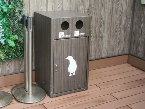 ペンギン ゴミ箱