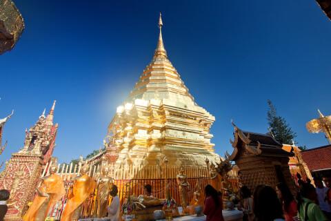 ワット・プラタート・ドイ・ステープ チェンマイ タイ 観光