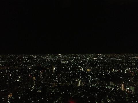 夜景 ヒカリエ