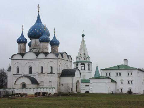 スーズダリ・クレムリン Суздальский кремль ロシア 観光