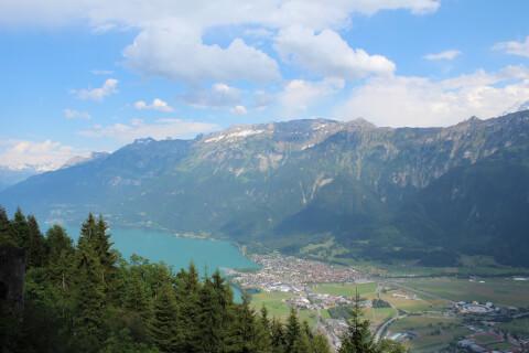 スイスの人気観光スポット、ハーダークルム展望台