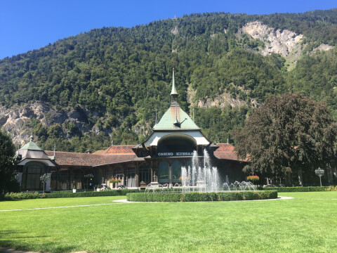 スイスのおすすめ観光スポット、クアザール・コングレス・センター