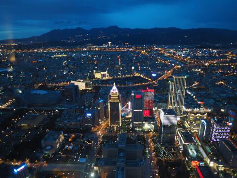 台北101 展望台 夜景