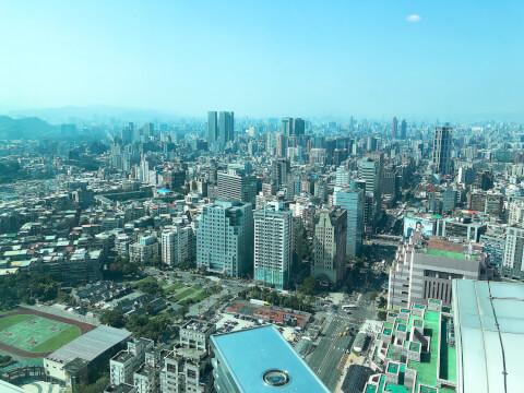 台北101 展望台 景色