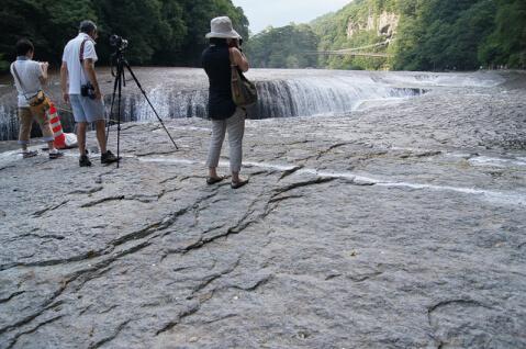 滝吹割の滝