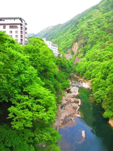 滝吹割の滝老神温泉